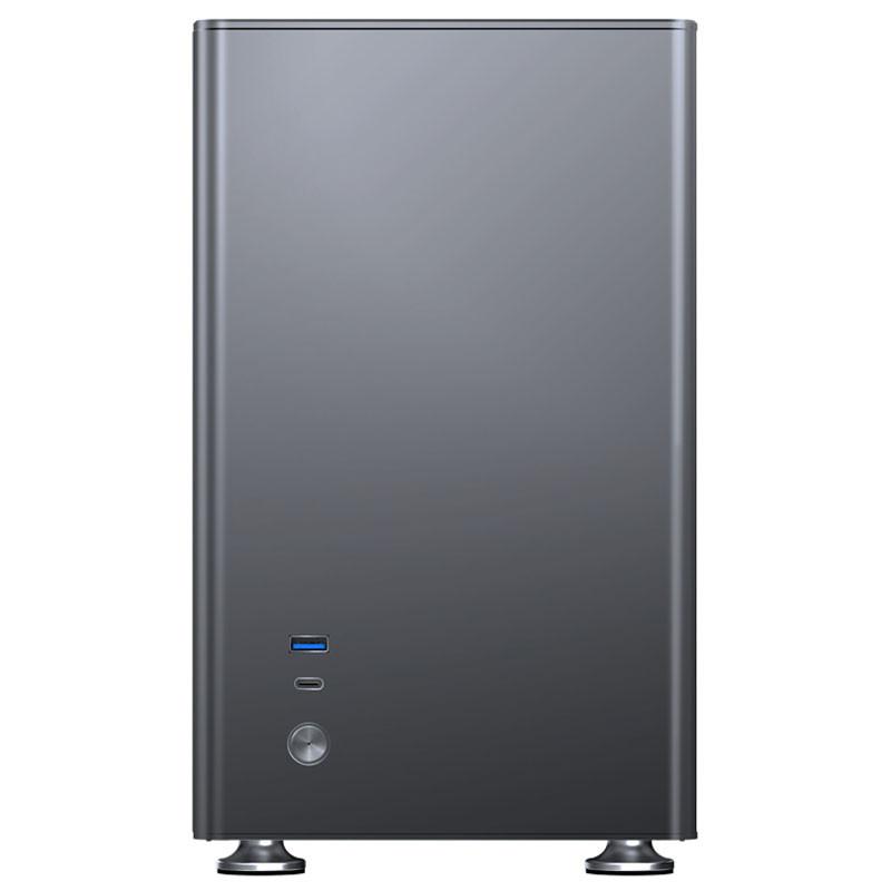 Caja PC Jonsbo A4 Grey Cristal Templado Mini-ITX
