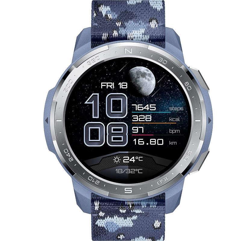 Honor Watch GS Pro Camuflaje Azul