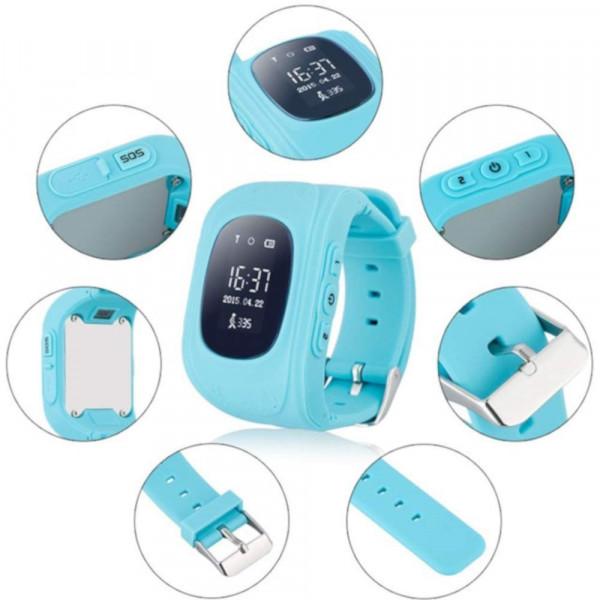 SmartWatch Infantil con GPS Geokid Teknon Azul Cielo