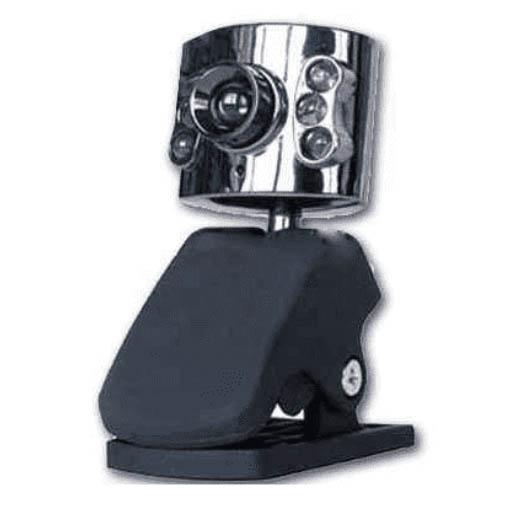 Webcam Satycon Pinza con Luz y Micrófono 5.0Mpx
