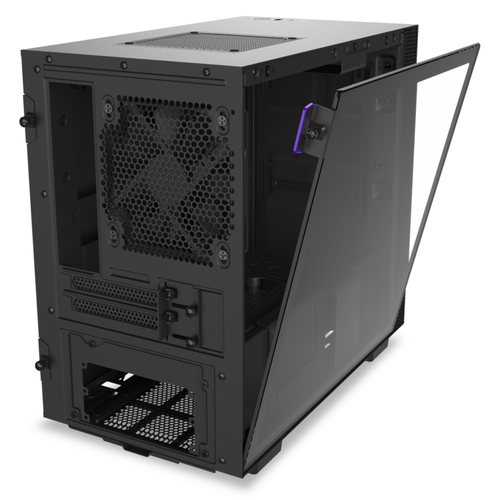 Caja PC Mini ITX NZXT H210 Negro Mate
