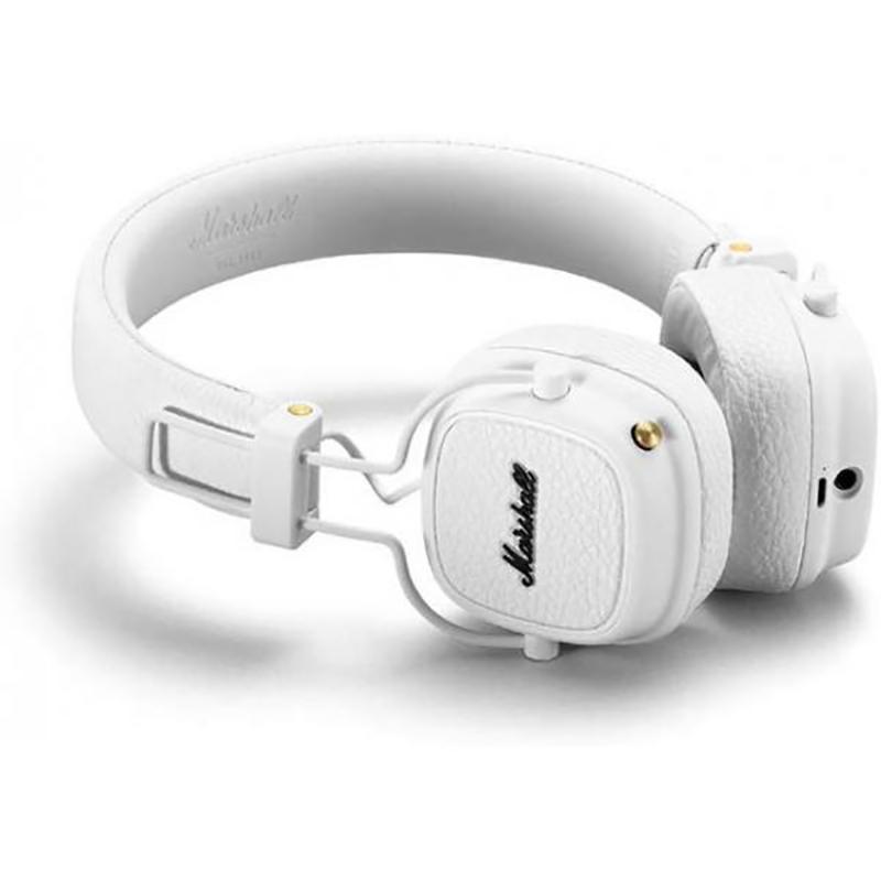 Auriculares Bluetooth Plegables Marshall Major III Blanco