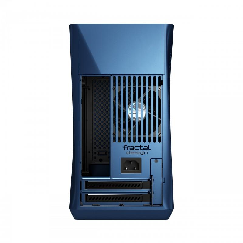 Caja PC Fractal Design ERA mini-ITX Aluminio/Azul