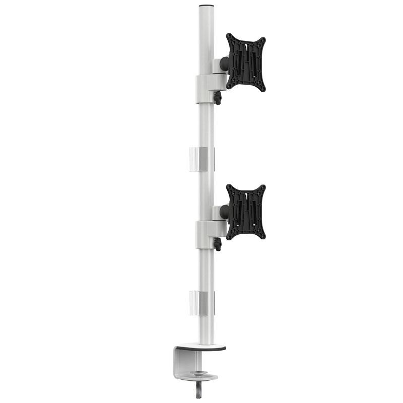 Soporte Vertical para 2 Monitores HAGOR M VESA 7753 (15 - 30