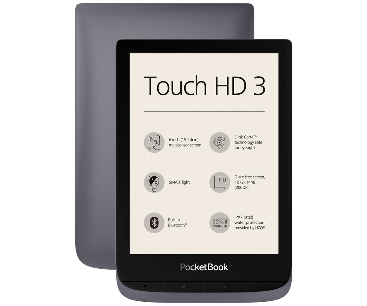 eBook PocketBook Touch 3 HD 6\