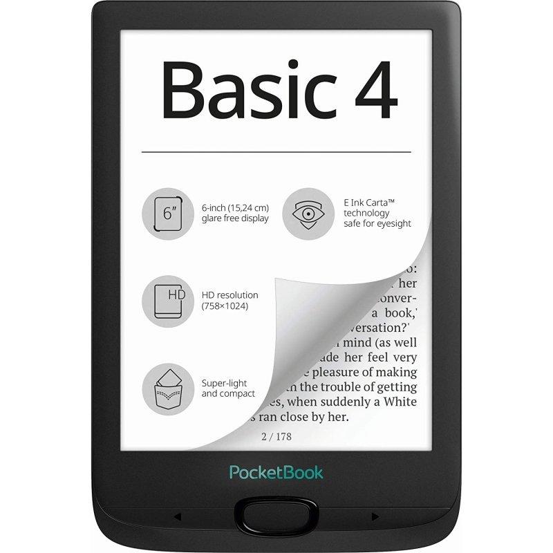 eBook PocketBook Basic 4 6'' 8GB Negro