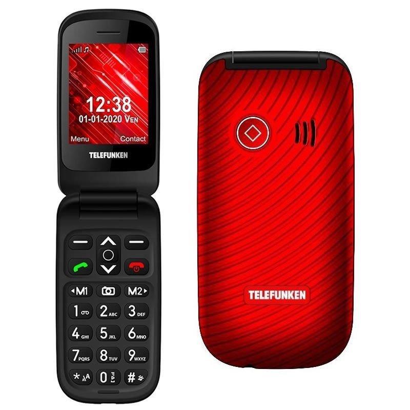 Teléfono Móvil Telefunken S440 Rojo