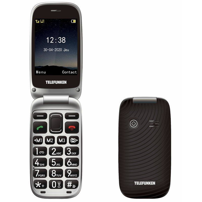 Teléfono Móvil Telefunken S540 Negro