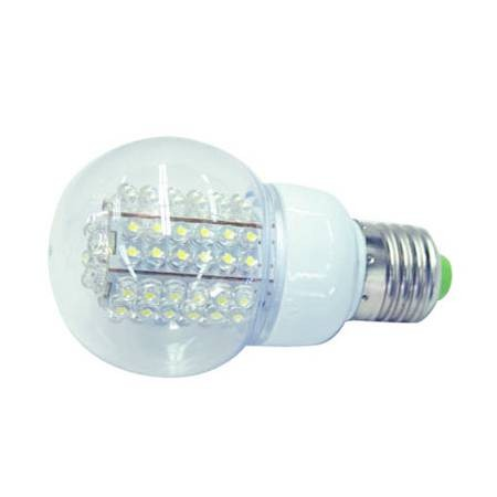 Bombilla led bajo consumo 4 2w 78 leds 7000k e27 - Halogenos led bajo consumo ...