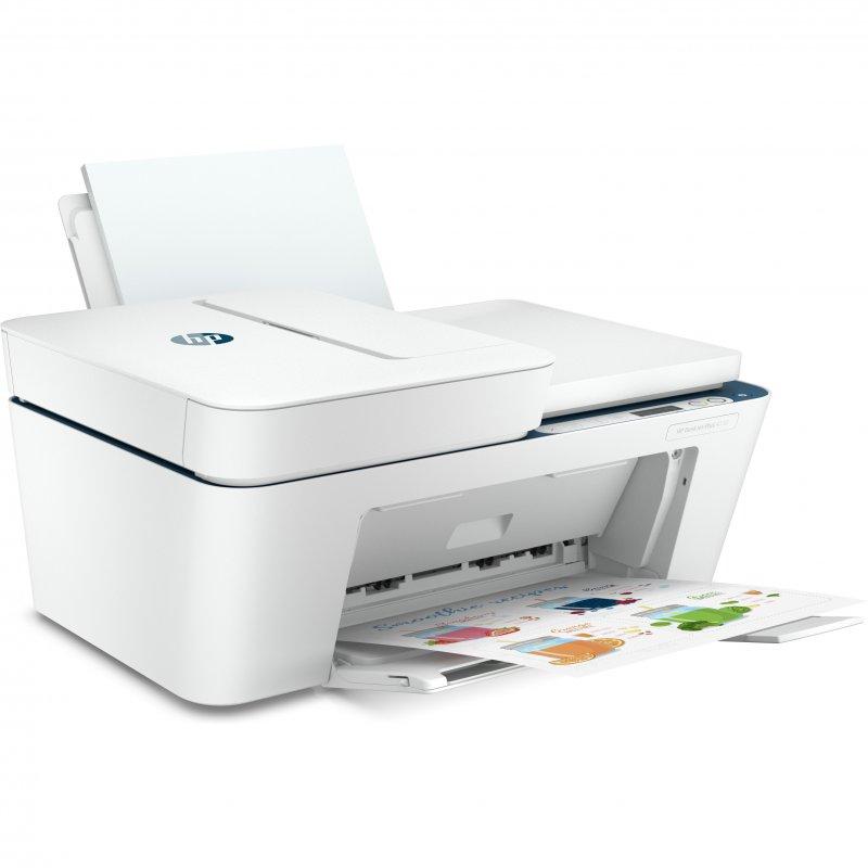 Impresora Multifunción HP Deskjet Plus 4130 WiFI / Fax Móvil