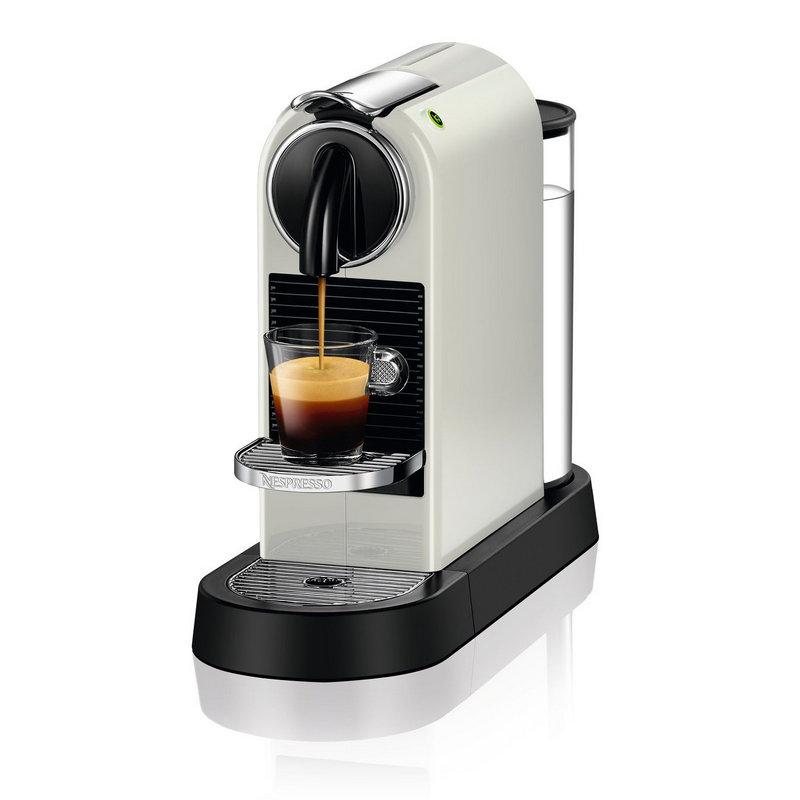 Cafetera Nespresso DeLonghi Citiz EN 167 Blanca