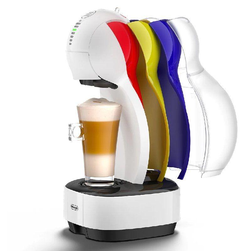 Cafetera de Cápsulas Delonghi Colors EDG355.W1 Blanca