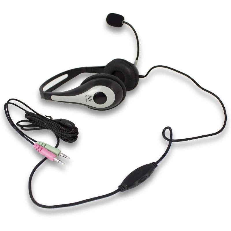 Auriculares con Microfono Ewent EW3562