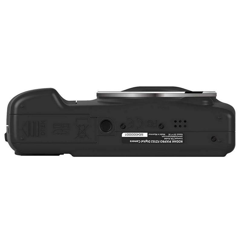 Cámara Digital Kodak PixPro FZ152 16MPx ZOOM 15X Negra