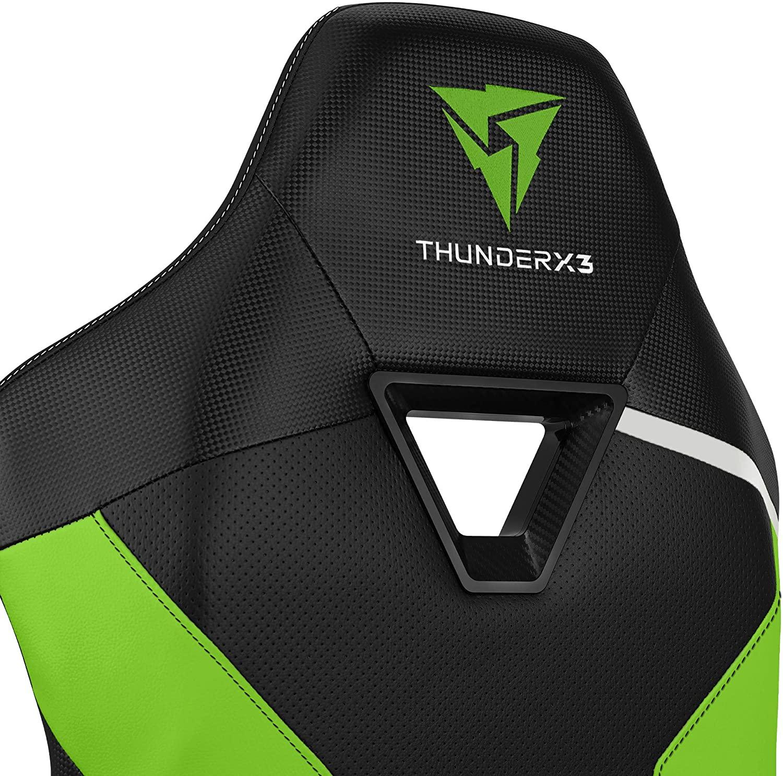 Silla Gaming Thunderx3 TC3/ Verde Neón TC3BG