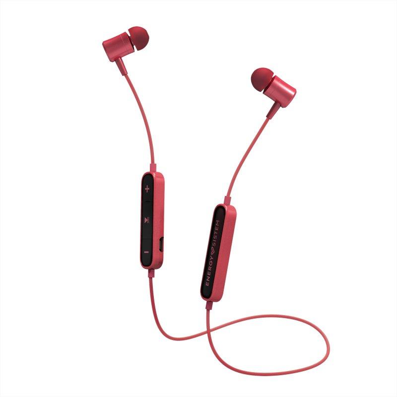 Auriculares Energy Sistem BT Urban 2 Bluetooth Rojos