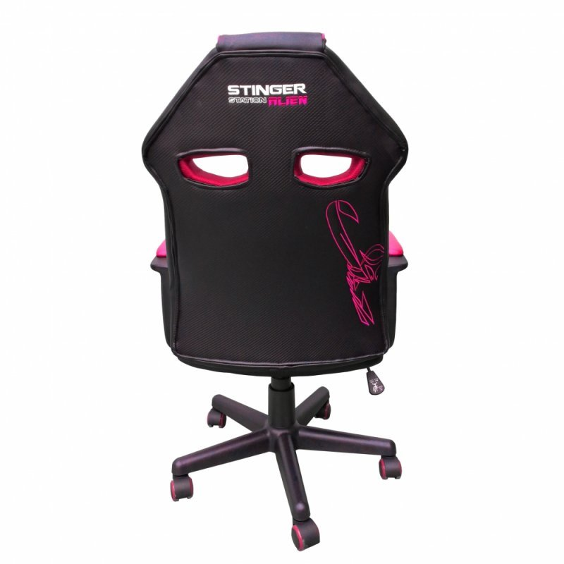 Silla Gaming Woxter Stinger Station Alien Silla Gaming Rosa/Negro
