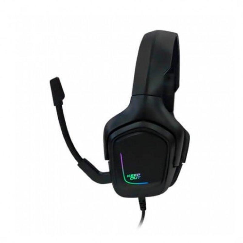 Auriculares con Micrófono Keep Out HX601 RGB