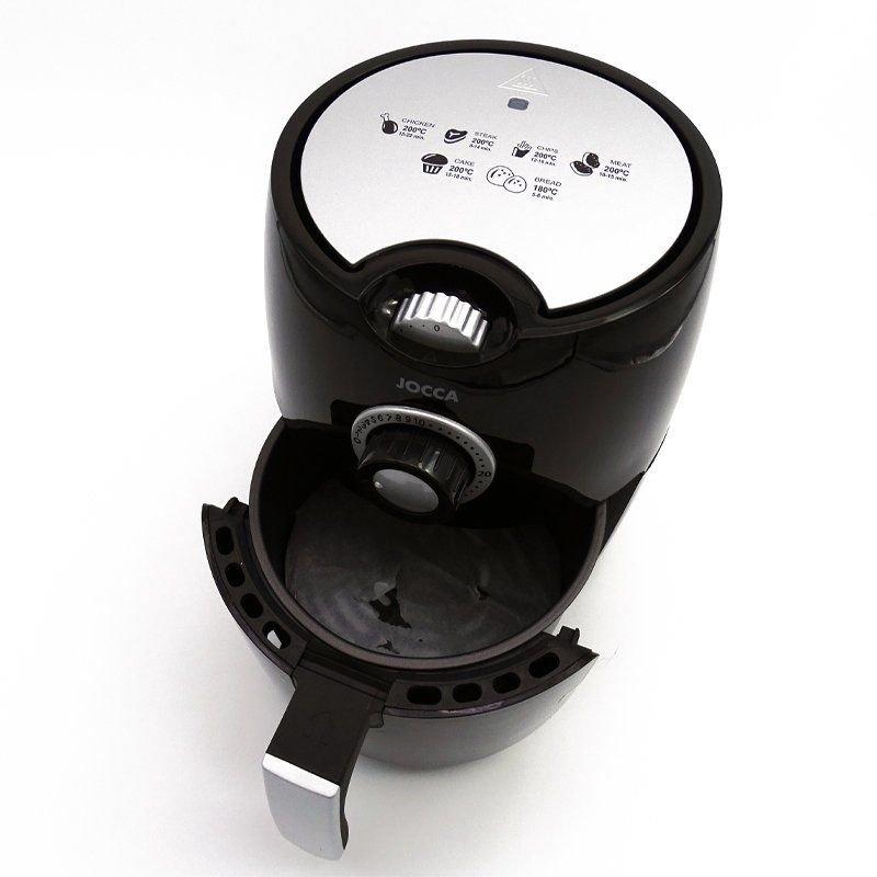 Freidora sin Aceite Jocca 1459 - 1000W - Capacidad 2.2L