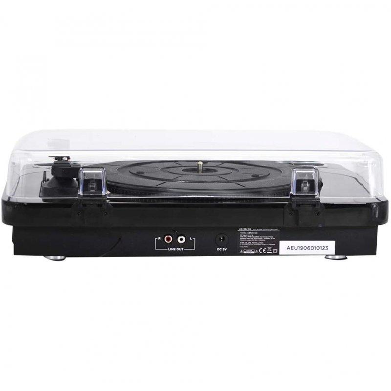 Tocadiscos Bluetooth Aiwa GBTUR-120BKMKII Negro