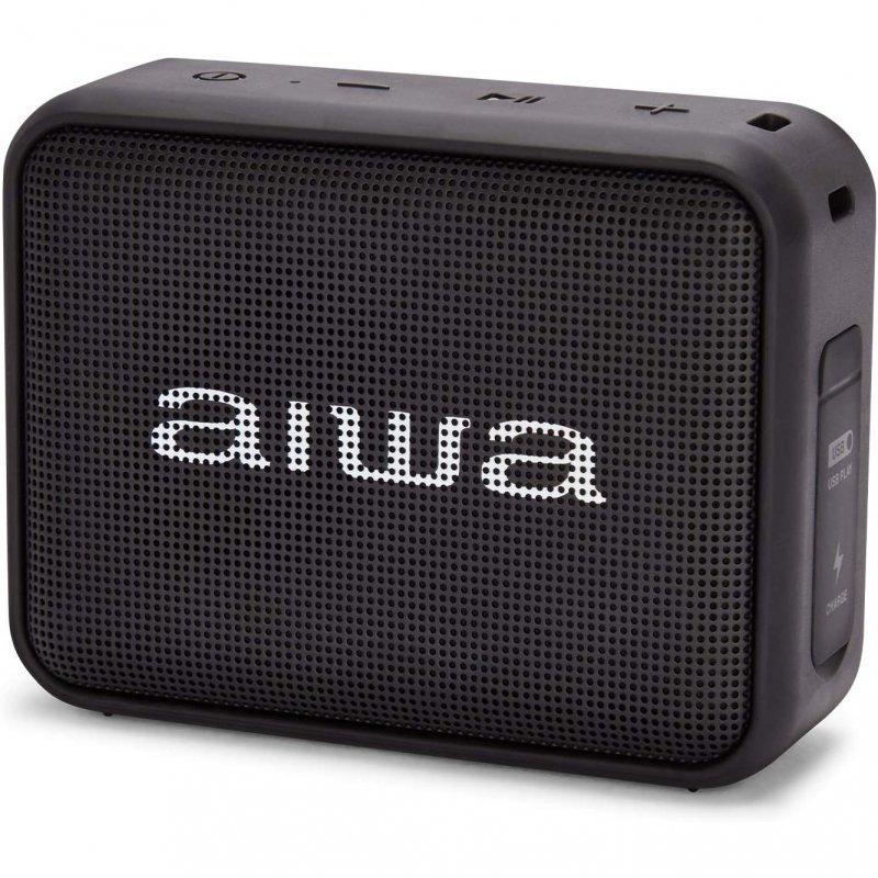 Altavoz Aiwa BS-200 Bluetooth 6W Negro