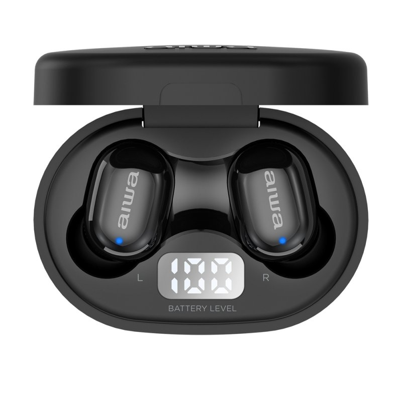 Auriculares Bluetooth Aiwa EBTW-150 Negro