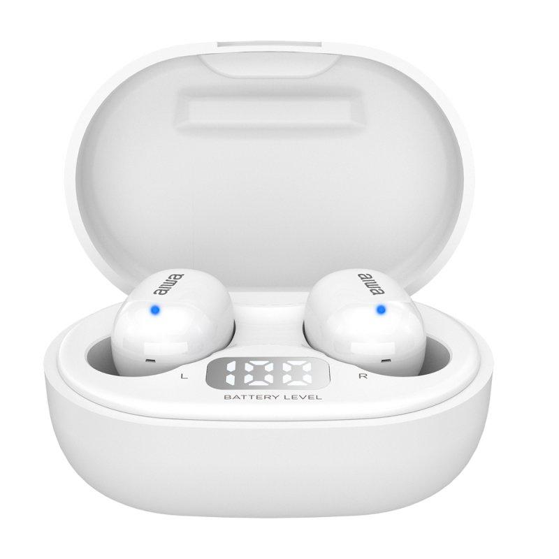 Auriculares Bluetooth Aiwa EBTW-150 Blanco