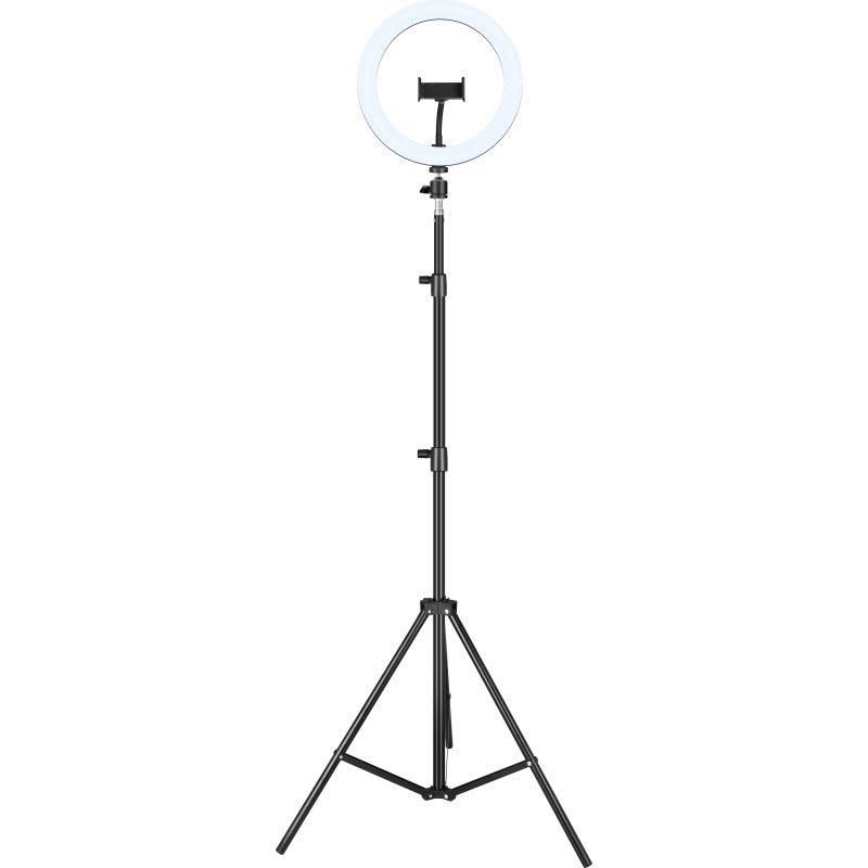Kit Aro luz LED 10 + Trípode 200 cm Iggual