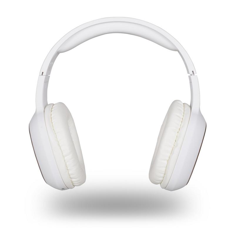 Auriculares NGS Artica Pride Blanco Bluetooth con Micrófono