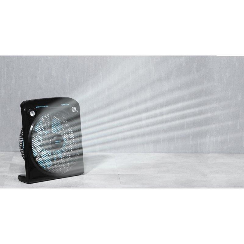 Ventilador de Suelo CECOTEC FORCESILENCE 6000 Negro