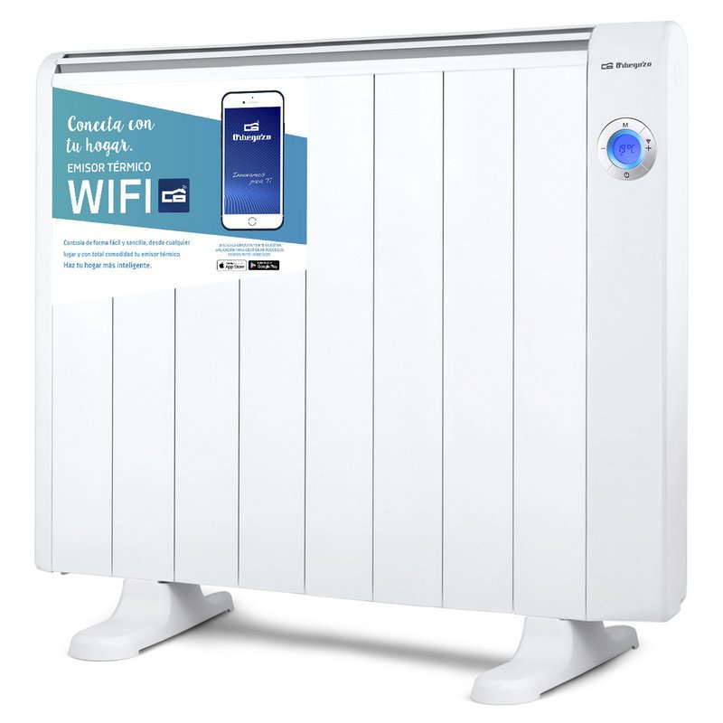 Emisor Térmico Wifi Orbegozo RRW-1500 Compatible con Alexa y Google Assistant