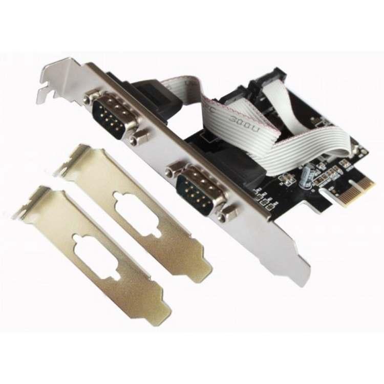 Tarjeta PCI Express 2 puertos L-Link RS232