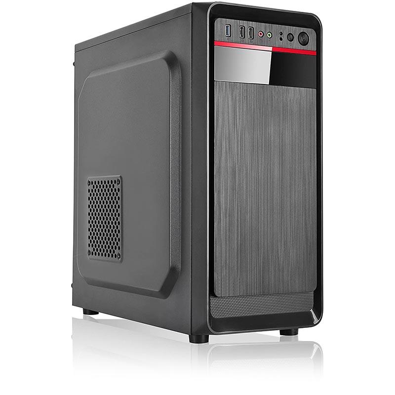 Caja PC L-LINK KLUSTER Micro ATX 500W NEGRA