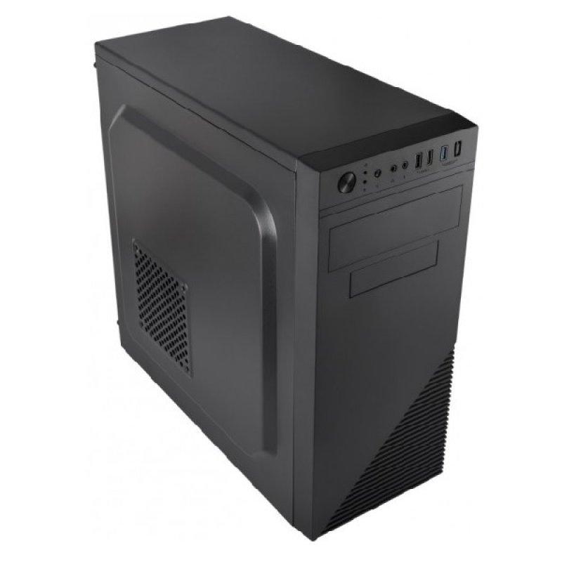 Caja PC mATX L-Link ATRIA Negro + Fuente de 500W