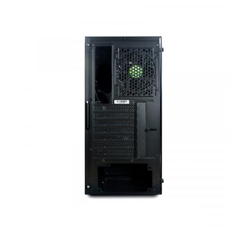 Caja PC Droxio Bagger Metacrilato ATX Plateada