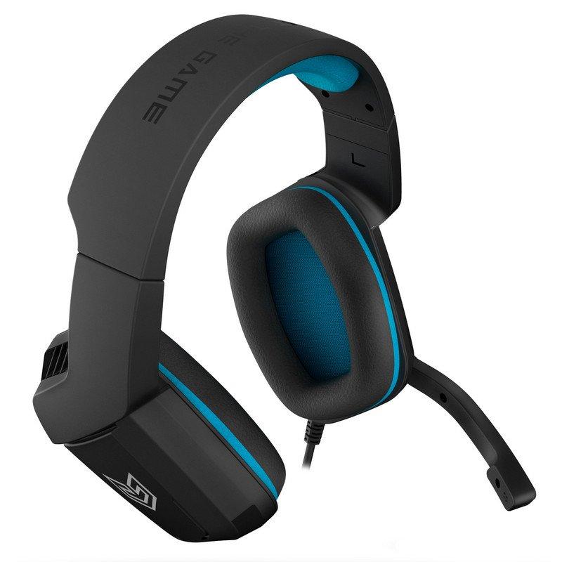 Auriculares Gaming BG Radar Negro/Azul