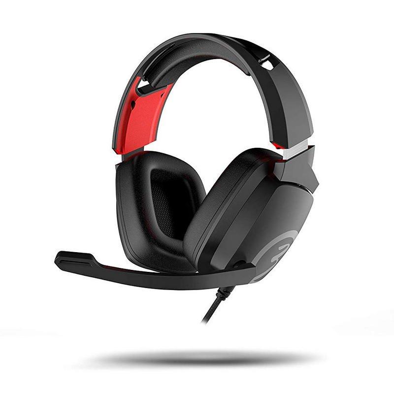 Auriculares Gaming Ozone Ekho X40 Negro/Rojo