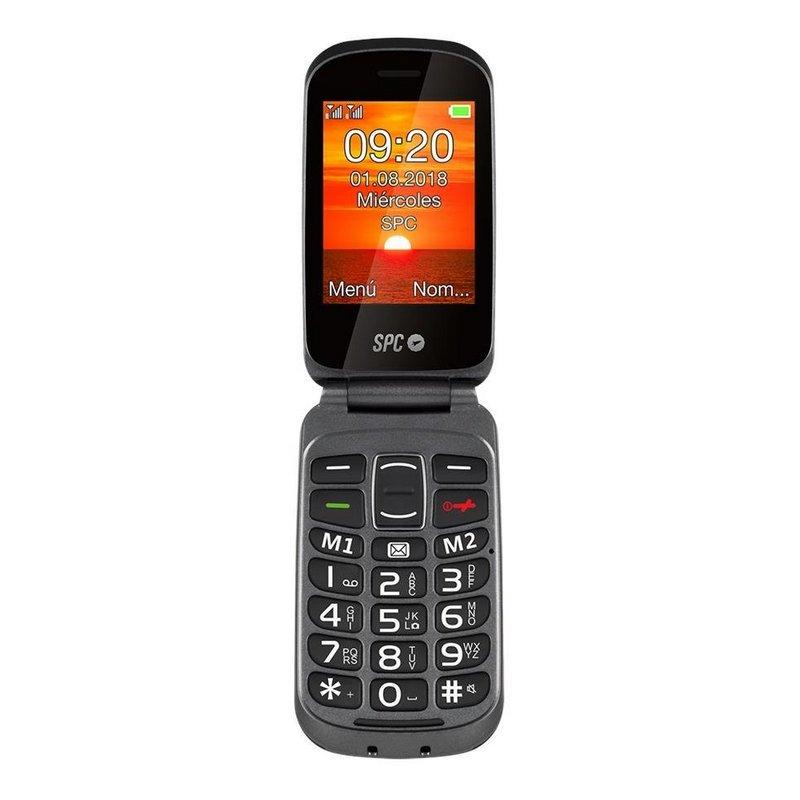 Teléfono Móvil SPC 2312N Goliath + Dock Negro