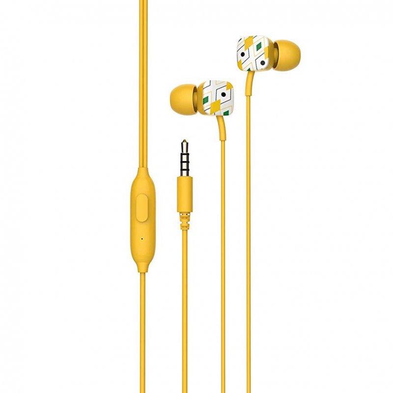 Auriculares con Micrófono SPC Hype Amarillo
