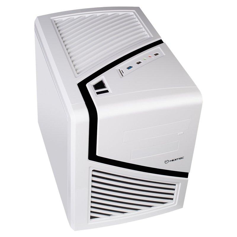 Caja PC MicroATX Hiditec Snow Kube Blanco
