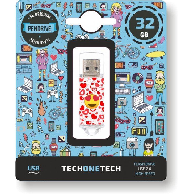 Pendrive 32GB Tech1Tech TEC4502-32 Eart-Eyes