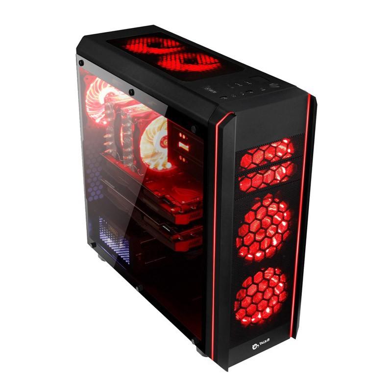 Caja PC ATX Talius Daemon Led RGB