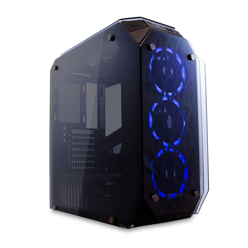 Caja PC ATX Talius Kraken Doble Ring RGB