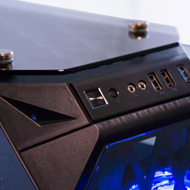 Caja PC ATX Talius Kraken Doble Ring RGB