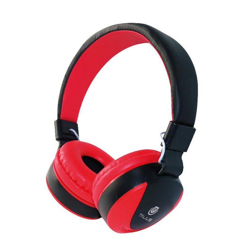 Auriculares Talius HPH-5005 con Micrófono Rojos