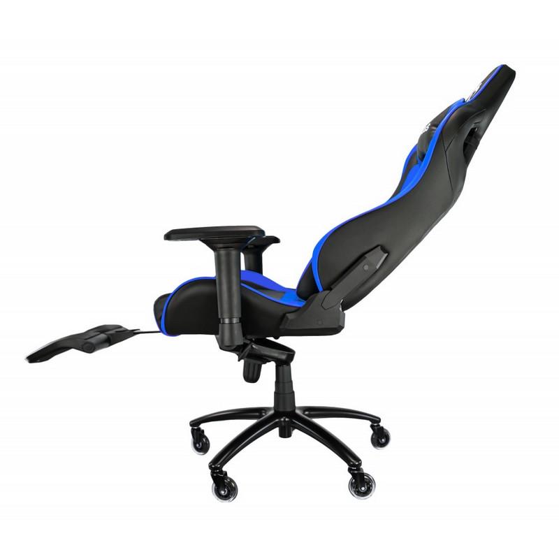 Silla Gaming Talius Caiman Azul/Negra