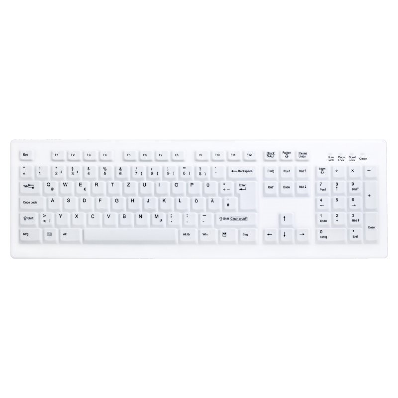 Teclado Lavable Desinfectable Active Key AK-C8100F