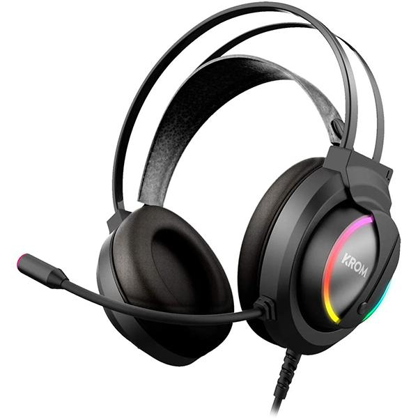 Krom Auricular Gaming KAPPA estéreo RGB