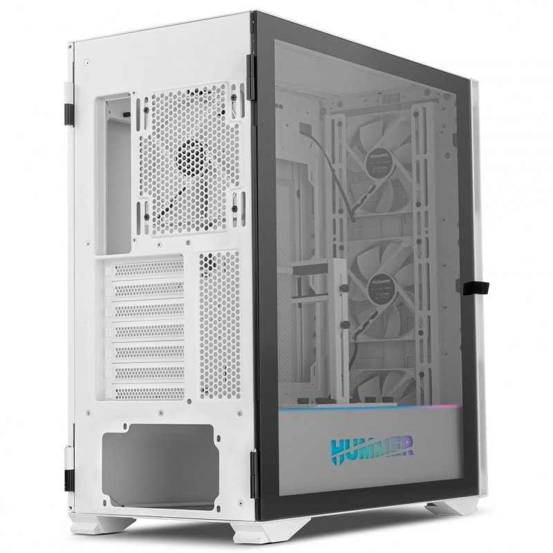 Caja PC E-ATX Nox Hummer Nexus con Ventana Lateral Blanco