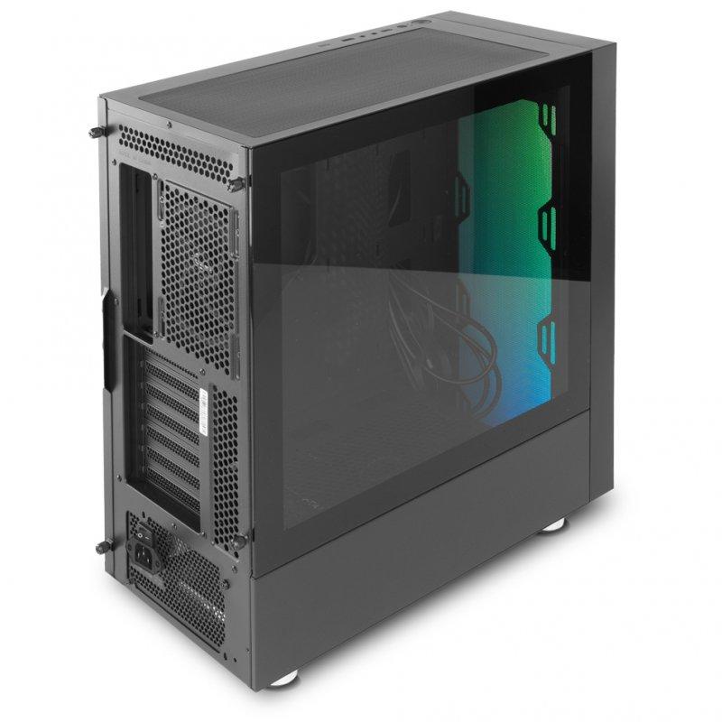 Caja PC ATX Nox Hummer Blaster con Ventana Negro